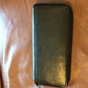 Vintage DOPP Leather Travel Wallet